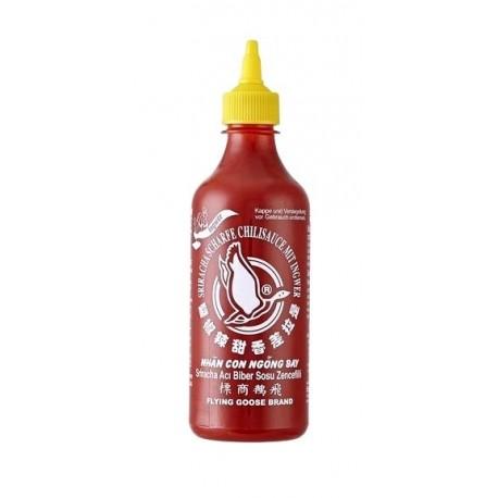 Sos chili Sriracha z imbirem 455 ml - ostry (chili 55 %) Wasabi sushi Shop Wrocław Sklep Orientalny