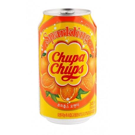 Koreański gazowany napój pomarańczowy Chupa Chups 345 ml Wasabi Sushi Shop Wrocław Sklep Orientalny