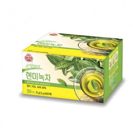 Koreańska zielona herbata z brązowym ryżem 50 saszetek 75 g Wasabi Sushi Shop Wrocław Sklep Orientalny