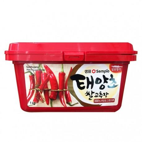 Koreańska ostra pasta Gochujang z czerwonych papryczek chili - 1 kg Wasabi Sushi Shop Wrocław Sklep Orientalny