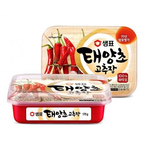 Koreańska ostra pasta Gochujang z czerwonych papryczek chili - 170 g Wasabi Sushi Shop Wrocław Sklep Orientalny
