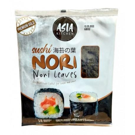 Algi morskie Yaki Sushi Nori Gold AK 10 ark 26 g Wasabi Sushi Shop Wrocław Sklep Orientalny