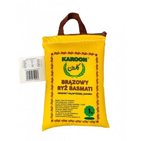 Pakistański długoziarnisty brązowy ryż Basmati Karoon 1 kg Wasabi Sushi Shop Wrocław Sklep Orientalny