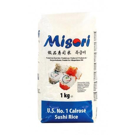 Ryż do sushi Misori Calrose 1 kg Sklep Wasabi Sushi Shop Wrocław produkty i akcesoria do sushi i kuchni orientalnej