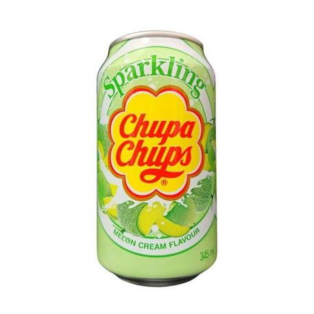 Koreański gazowany napój melonowo - śmietankowy Chupa Chups 345 ml Wasabi Sushi Shop Wrocław Sklep Orientalny