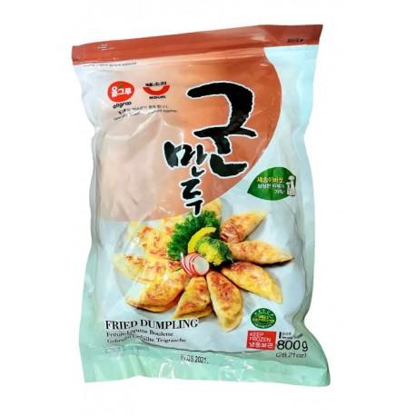 Koreańskie mrożone pierożki Gyoza  Mandu  Wonton z Kimchi 675 g Wasabi Sushi Shop Wrocław Sklep Orientalny