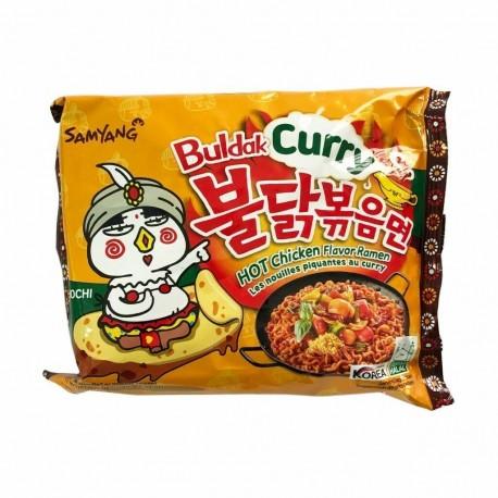 Koreańska zupa  danie Ramen Buldak mega ostry kurczak curry 140 g Wasabi Sushi Shop Wrocław Sklep Orientalny