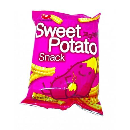 Chipsy ze słodkich ziemniaków Sweet Potato Snack 55 g Wasabi Sushi Shop Wrocław Sklep Orientalny