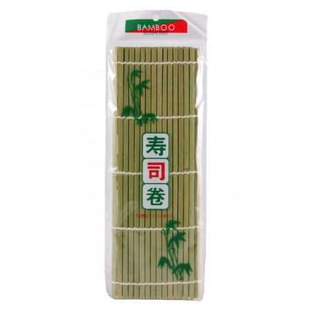 Mata bambusowa do sushi 27 x 27 cm Sklep Wasabi Sushi Shop Wrocław produkty i akcesoria do sushi i kuchni orientalnej
