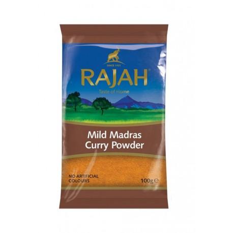 Curry Madras mielone łagodne Rajah 100 g Wasabi Sushi Shop Wrocław Sklep Orientalny