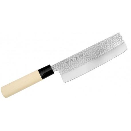 Japoński nóż Satake Magoroku Saku Nakiri 17 cm Wasabi Sushi Shop Wrocław Sklep Orientalny
