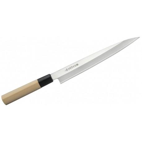 Nóż japoński Satake Megumi Yanagi Sashimi 21 cm Wasabi Sushi Shop Wrocław Sklep Orientalny