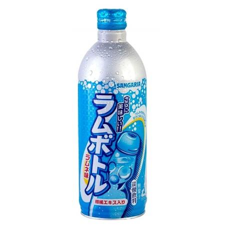 Japońska oranżada w aluminiowej butelce Sangaria Ramune Classic 500 ml Wasabi Sushi Shop Wrocław Sklep Orientalny
