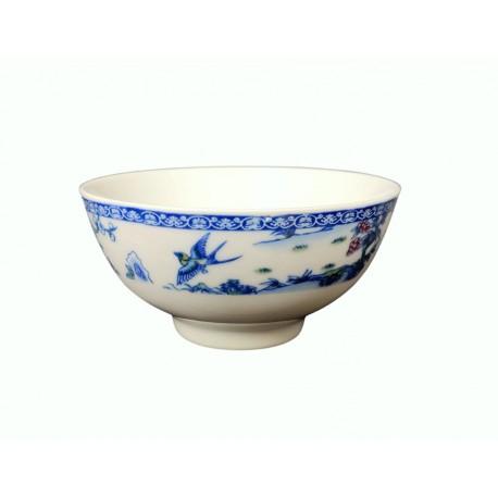 Biała miseczka z niebieskim wzorem 11,5 cm, 300 ml Wasabi Sushi Shop Wrocław Sklep Orientalny