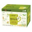 Zielona herbata z brązowym ryżem Sempio 20 torebek