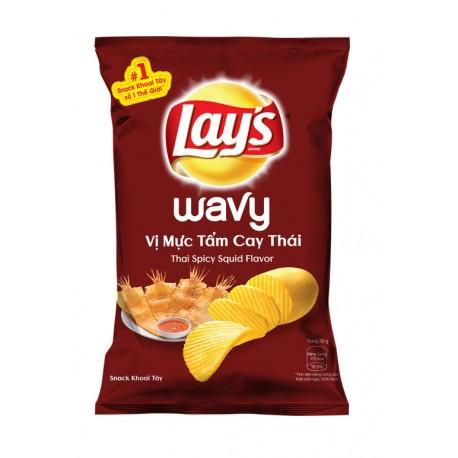 Ostre chipsy Lay's o smaku kalmarów 63 g Wasabi Sushi Shop Wrocław Sklep Orientalny