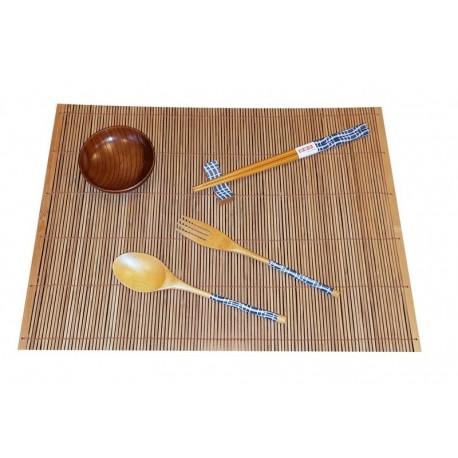 6 częściowy zestaw do sushi Wood Sklep Wasabi Sushi Shop Wrocław produkty i akcesoria do sushi i kuchni orientalnej