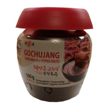 Koreańska pasta Gochujang Sunchang Red Pepper 500 g Wasabi Sushi Shop Sklep Orientalny Wrocław