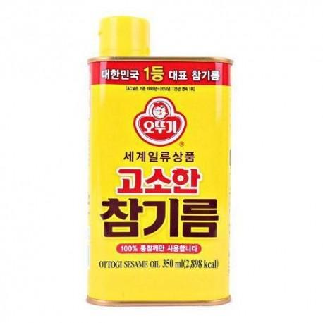 Olej sezamowy z prażonych ziaren 350 ml Ottogi