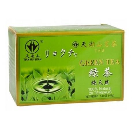 Zielona herbata Tian Hu Shan 20 torebek 40 g Wasabi Sushi Shop Wrocław Sklep Orientalny