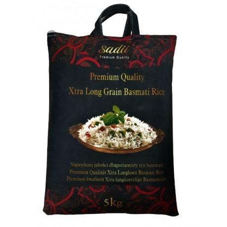 Ryż Basmati Xtra Long Grain Premium Sadii 5 kg Wasabi Sushi Shop Wrocław Sklep Orientalny