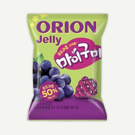 Koreańskie żelki winogronowe Orion 66 g Sklep Wasabi Sushi Shop Wrocław produkty i akcesoria do sushi i kuchni orientalnej
