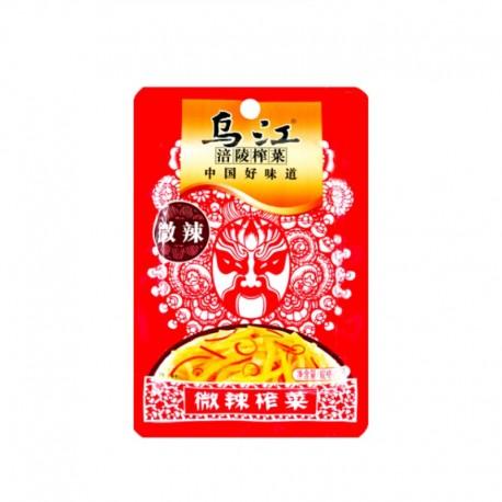 Chińskie kiszone łodygi gorczycy sarepskiej Zha Cai 80 g Wasabi Sushi Shop Sklep Orientalny