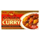 Japońskie Golden Curry Mild (łagodne) 220 g S&B 12 porcji