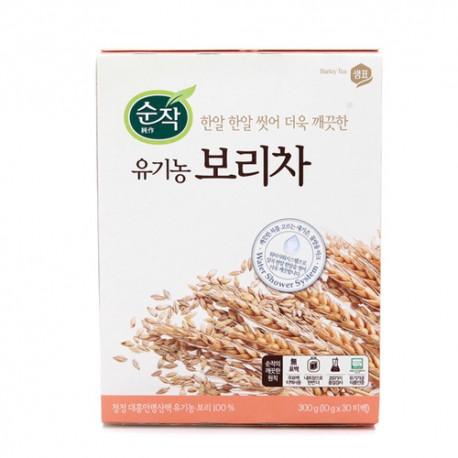 Koreańska herbata jęczmienna 100 % organiczna 300 g 30 torebek Sempio Barley Tea Wasabi Sushi Shop Wrocław Sklep Orientalny