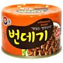 Larwy jedwabnika w zalewie 130 g Yoo Dong