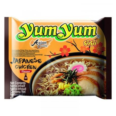 Makaron instant Yum Yum Japoński Kurczak Shoyu 60 g Tajlandia Wasabi Sushi Shop Wrocław Sklep Orientalny