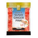 Imbir marynowany różowy do sushi 240 g Golden Turtle