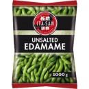 Mrożona zielona soja Edamame 1kg blanszowana niesolona Ita-San
