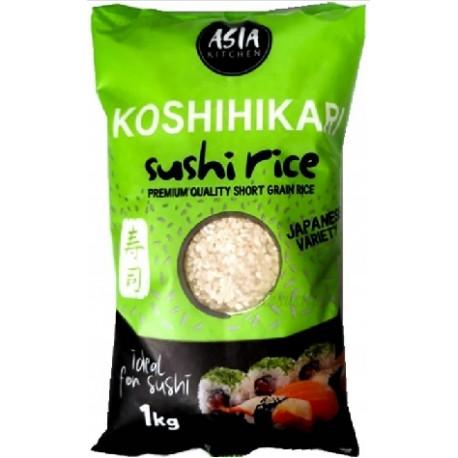 Ryż do sushi Koshihikari 1kg Premium AK Wasabi Sushi Shop Wrocław Sklep Orientalny