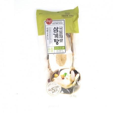 Rosół koreański Samgetang baza przypraw 70 g Sklep Wasabi Sushi Shop Wrocław produkty i akcesoria do sushi i kuchni orientalnej