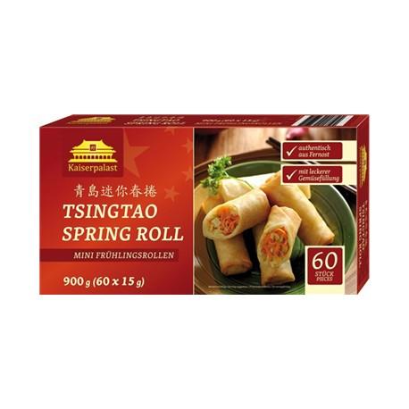 Sajgonki mini tsingtao spring roll z nadzieniem z warzyw mrożone 900 g 60szt Wasabi Sushi Shop Wrocław Sklep Orientalny