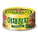 Tuńczyk z warzywami w puszce Dong Won 150 g