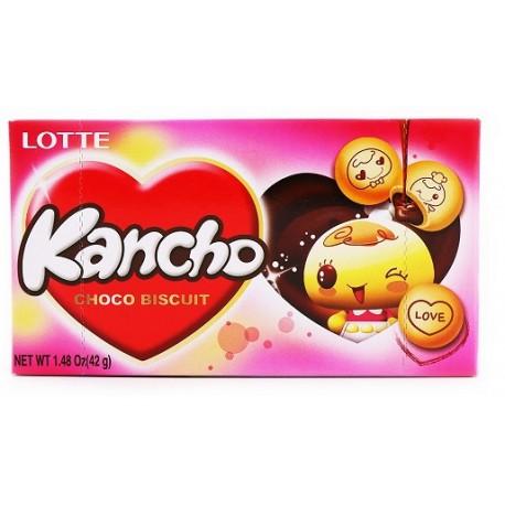 Ciasteczka koreańskie z czekoladą Kancho 42 g Wasabi Sushi Shop Wrocław Sklep Orientalny