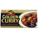 Japońskie Golden Curry Hot (ostre) 220 g S&B 12 porcji