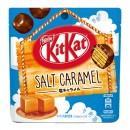 Japońskie mini Kit Kat Bites Słony Karmel Limited 45 g
