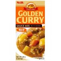 Japońskie Golden Curry Mild (łagodne) 92 g S&B 5 porcji