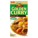 Japońskie Golden Curry Medium Hot 92 g S&B 5 porcji