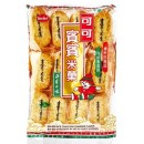 Krakersy ryżowe z algami morskimi nori 150 g Bin Bin