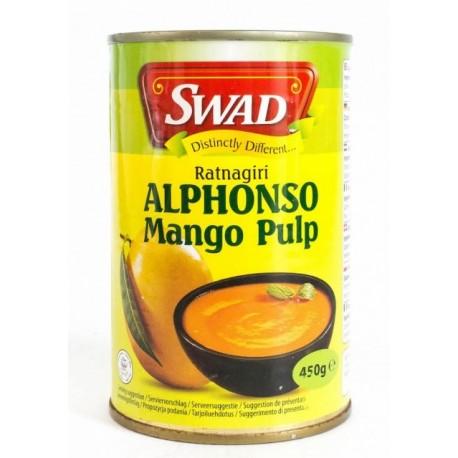 Pulpa z mango ALPHONSO 450 g SWAD Wasabi Sushi Shop Wrocław Sklep Orientalny
