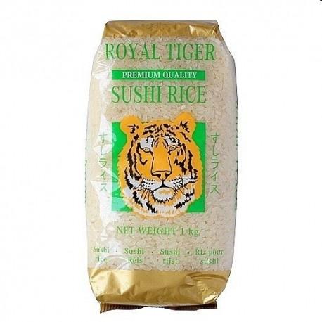 Ryż do sushi Royal Tiger Premium Quality 1 kg Sklep Wasabi Sushi Shop Wrocław produkty i akcesoria do sushi i kuchni orientalnej