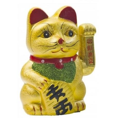 Japoński kot szczęścia Manaki Neko duży 17,5 cm Wasabi Sushi Shop Wrocław Sklep Orientalny