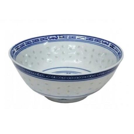 Miska 17,5 cm niebieska chińska porcelana ryżowa ramen miso Wasabi Sushi Shop Wrocław Sklep Orientalny