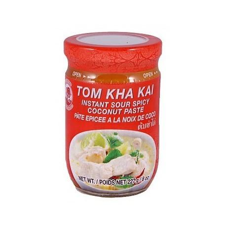 Pasta do zupy Tom Ka (Kha) Kai 227 g Wasabi Sushi Shop Wrocław produkty i akcesoria do sushi i kuchni orientalnej